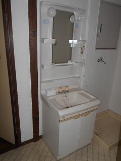 ウエストワン 402号室の洗面所