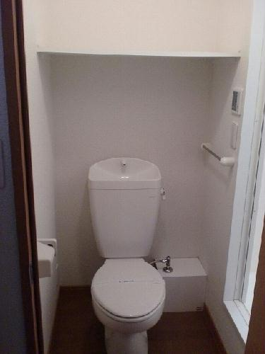 レオパレスコロモ 203号室のトイレ