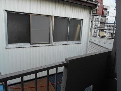 井川ハイツ 203号室の景色