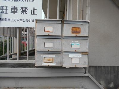 井川ハイツ 203号室のエントランス