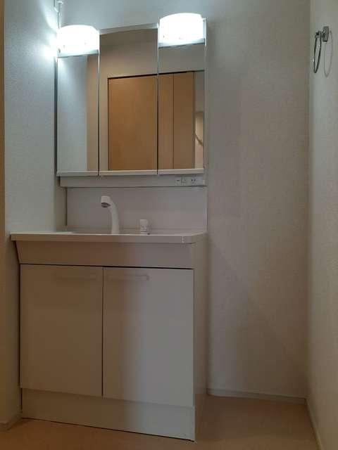 ソレイユ 01030号室の洗面所