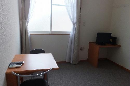 レオパレスヴィクトワール 203号室のベッドルーム