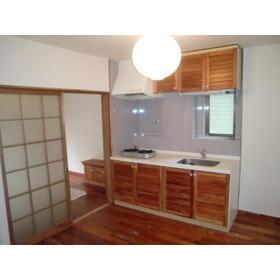 ユトリロ神ノ郷 101号室のキッチン