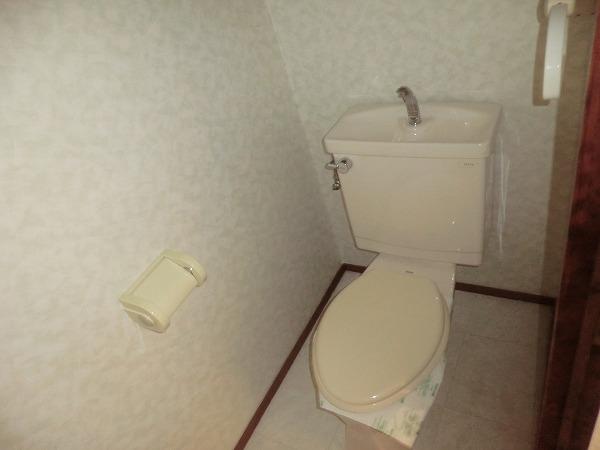 ハイツ内藤 205号室のトイレ
