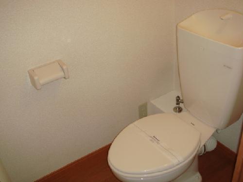 レオパレスMINA 205号室のトイレ