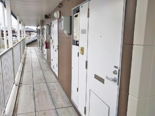 レオパレスビオラ 102号室の居室