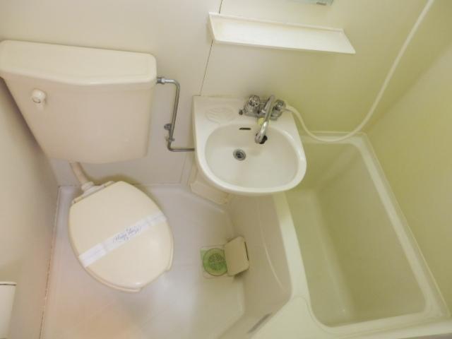 ジョイフル津田沼Ⅲ 206号室の風呂