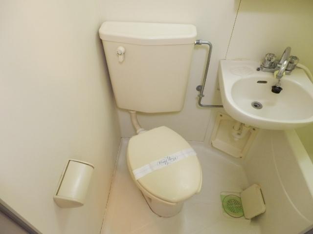 ジョイフル津田沼Ⅲ 206号室のトイレ