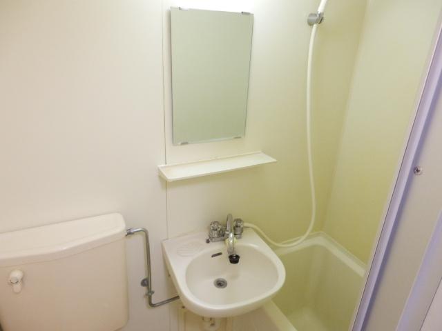 ジョイフル津田沼Ⅲ 206号室の洗面所