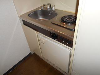 MTビル 401号室のキッチン