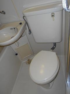 MTビル 401号室のトイレ