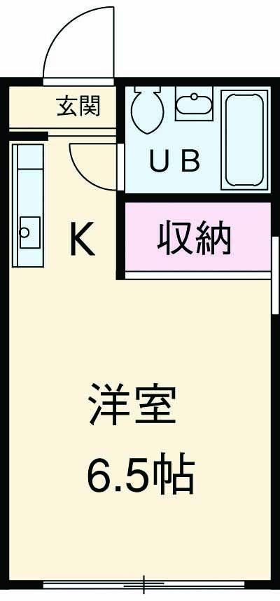 ベルシオン宮崎・102号室の間取り