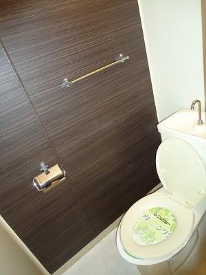 小坂プリンシア 501号室のトイレ