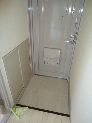 小坂プリンシア 501号室の玄関