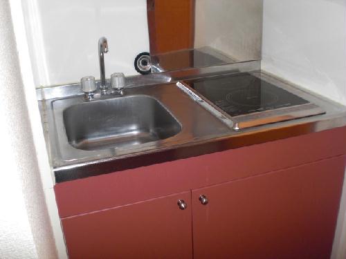 レオパレス寿 110号室のキッチン