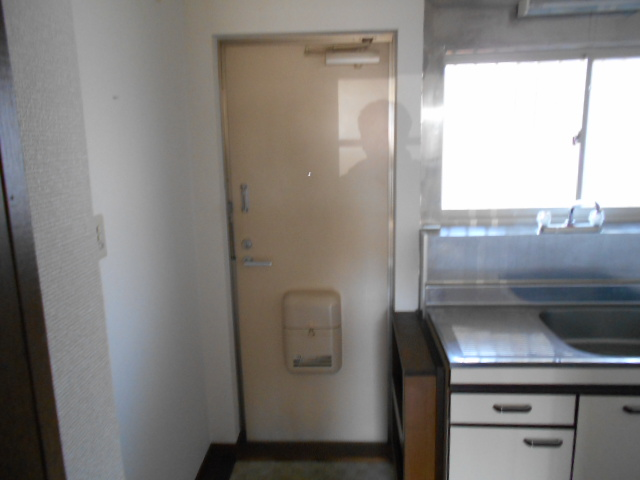 ハイツKTYⅡ 201号室の玄関
