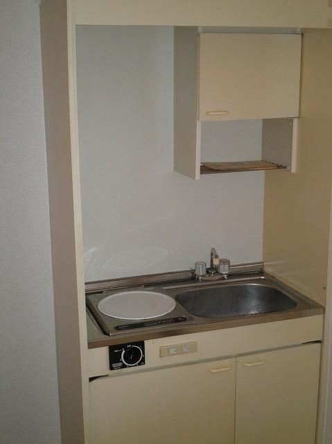 ボヌール新町 105号室のキッチン