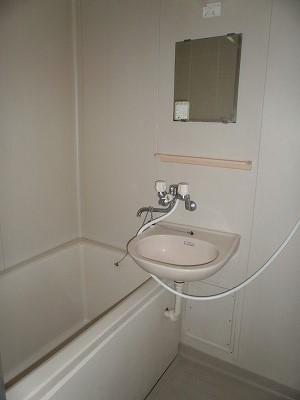 ボヌール新町 105号室の洗面所