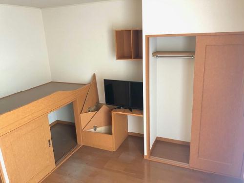 レオパレスソフィア 105号室の収納