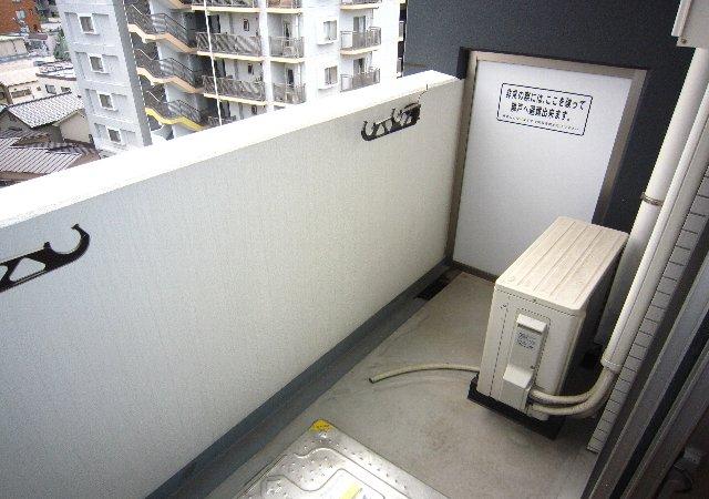 らふぃね壱番館 102号室のバルコニー