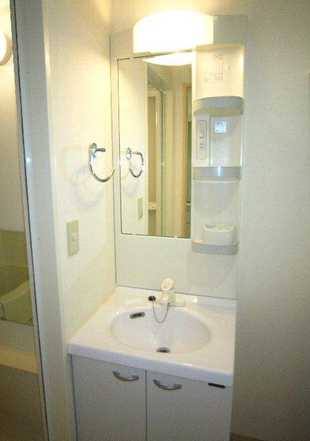 らふぃね壱番館 102号室の洗面所