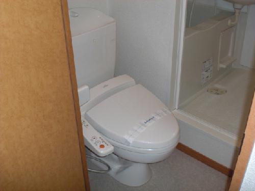 レオパレスナチュラルA 203号室のトイレ