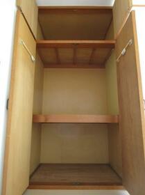 メゾンドクレール 0105号室の収納