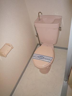 サンシャインウネベ 302号室のトイレ