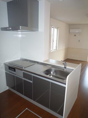 ロイヤル キャッスル 206号室のキッチン