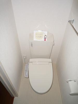 ロイヤル キャッスル 206号室のトイレ