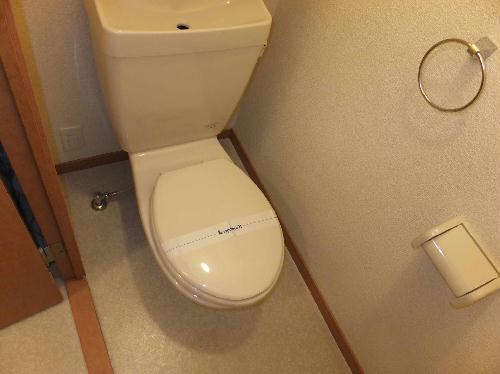 レオパレス前浜 102号室のトイレ