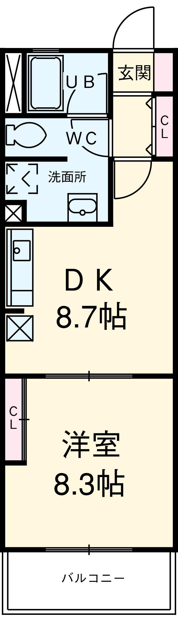 スターヴァレイ3・305号室の間取り