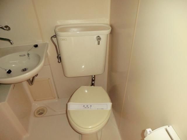 コーポ東海 208号室のトイレ