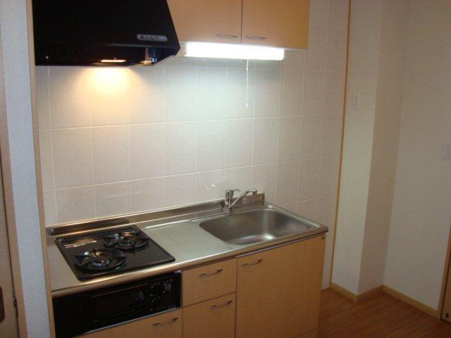 マサケンハイツ 101号室のキッチン
