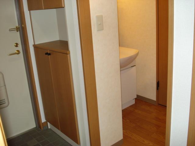 サンハイツN'S 302号室の玄関