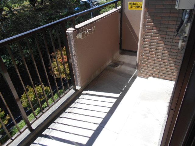 ウエストヒルズ斉藤 305号室のバルコニー