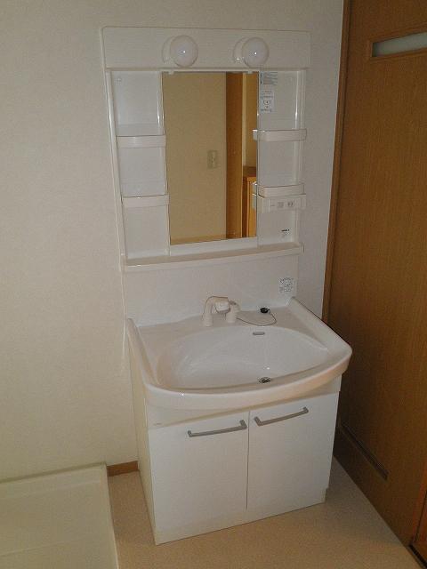 萩野マンションB棟 202号室の洗面所