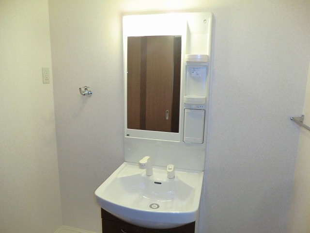 リビュール上縄 103号室の洗面所