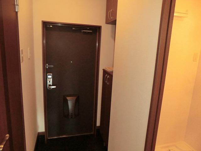 リビュール上縄 103号室の玄関