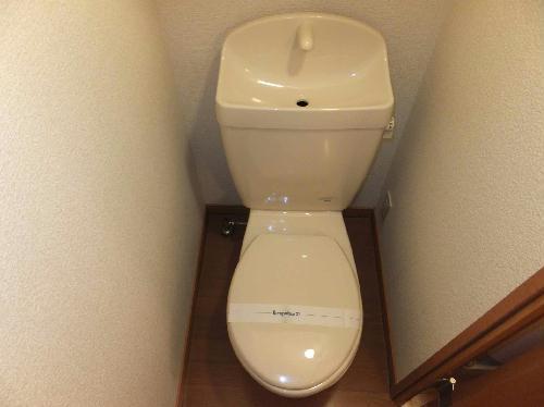レオパレスミュニA 206号室のトイレ