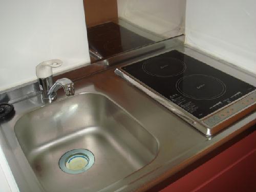 レオパレス明大寺 105号室のキッチン