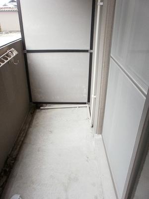 エスポワールTAKEDA 206号室のバルコニー
