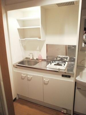 エスポワールTAKEDA 206号室のキッチン