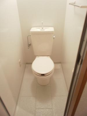 エスポワールTAKEDA 206号室のトイレ