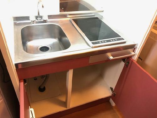 レオパレスソフィア 201号室のキッチン