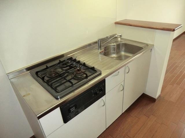 プログレス 205号室のキッチン