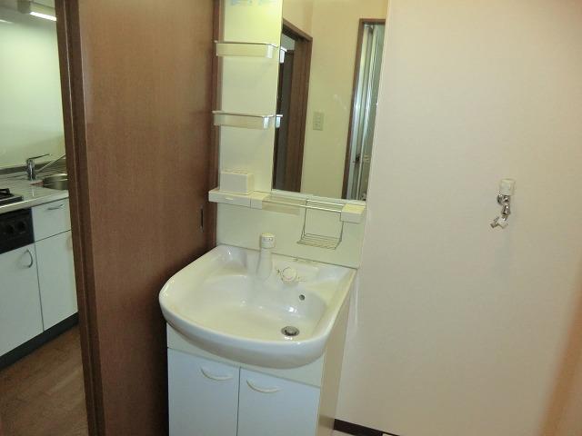 プログレス 205号室の洗面所