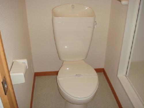 レオパレス明大寺 205号室のトイレ