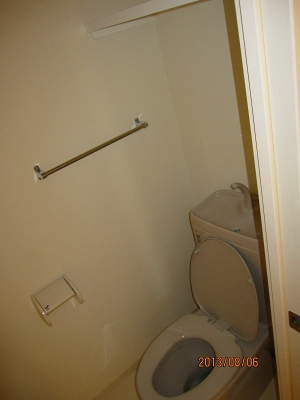 Klingel Baum 405号室のトイレ