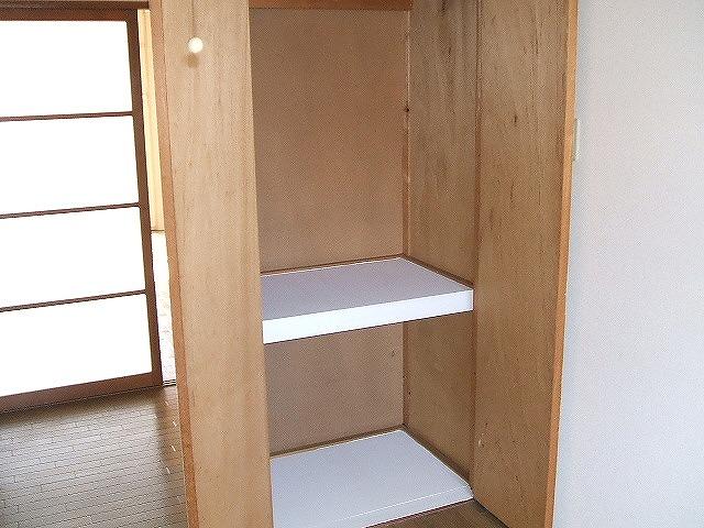 ハピネス緑 303号室の収納